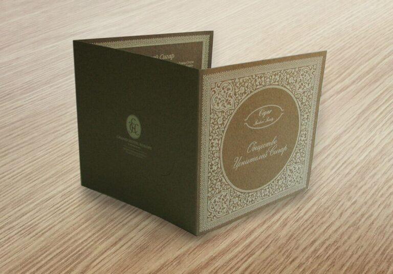 заказ открыток в типографии СПб